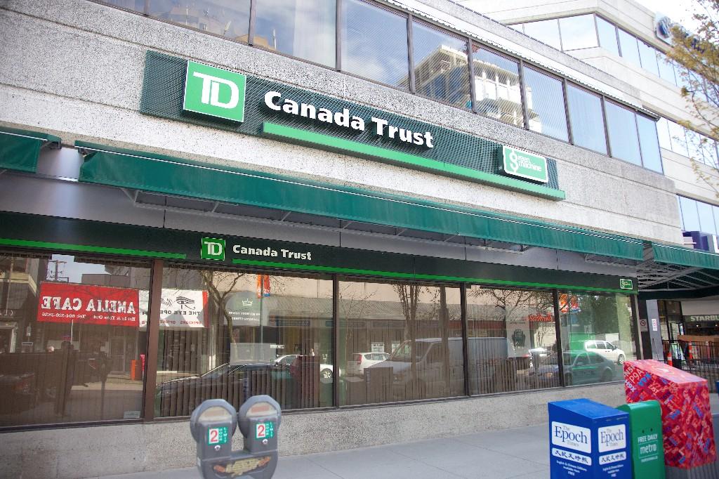 Usa td canada trust toronto td canada trust logo is seen in ottawa