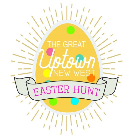 The Great Uptown Easter Hunt Map