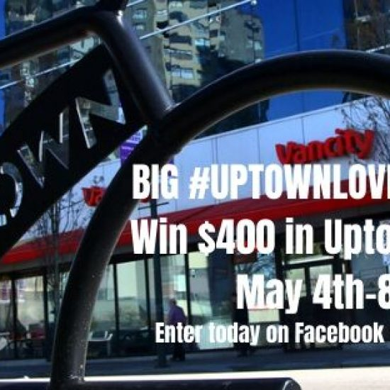 BIG #UPTOWNLOVE May 4-8th contest